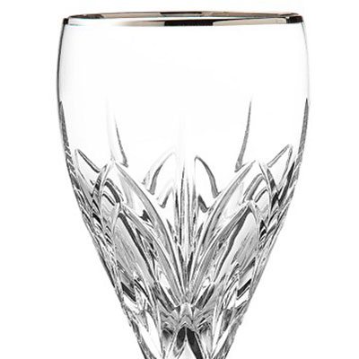 Marquis by Waterford Crystal, Caprice Platinum Crystal Wine