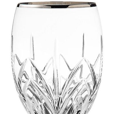 Marquis by Waterford Crystal, Caprice Platinum Crystal Iced Beverage, Single