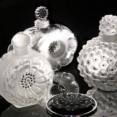Lalique Dahlia Perfume Bottle No. 3