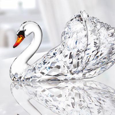 Swarovski Crystal, Paradise Swan