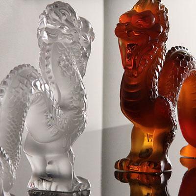 Lalique Clear Dragon, Large