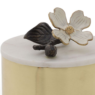 Michael Aram Dogwood Round Box