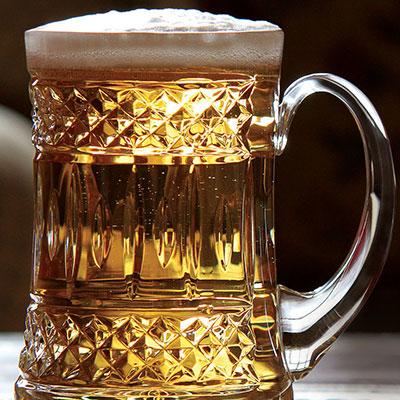 Cashs Ireland, Cooper Original Crystal Beer Tankard, Single