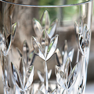 "Cashs Crystal Hawthorne Fairy 8"" Vase"