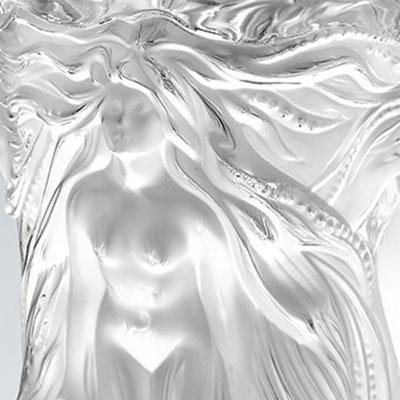Lalique Crystal, Vase Fantasia