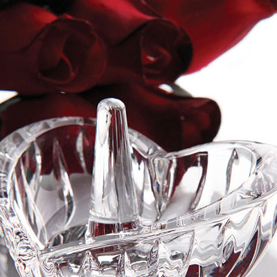 Marquis by Waterford Crystal, Sheridan Heart Ring Holder