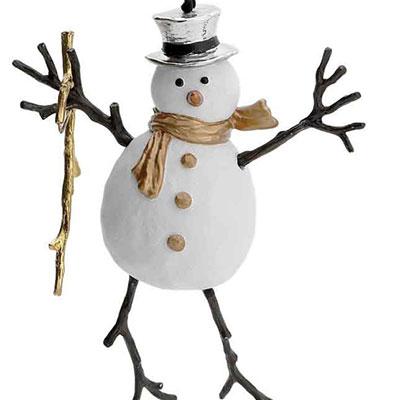 Michael Aram 2017 Snowman Ornament