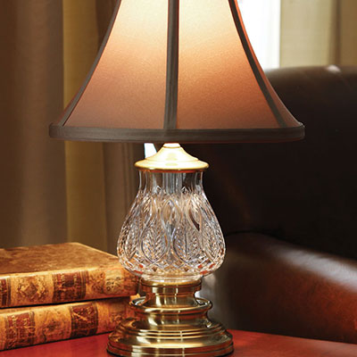 "Waterford Blue Bell Mini 16"" Accent Lamp"