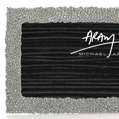 Michael Aram New Molten 4x6 Photo Frame