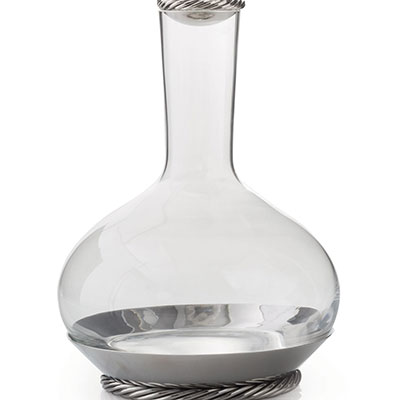 Michael Aram Twist Carafe with Coaster and Stopper