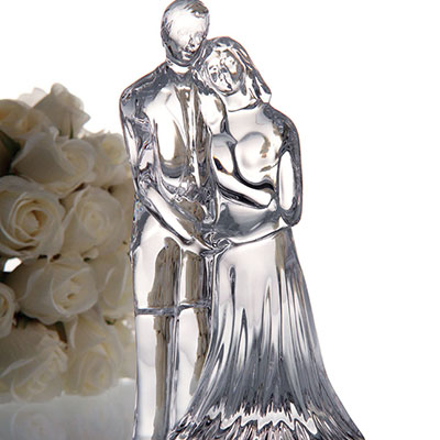 Waterford Crystal, Wedding Couple Crystal Sculpture
