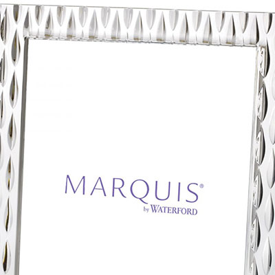 "Marquis by Waterford Crystal, Rainfall 8x10"" Picture Frame, Portrait"