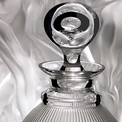 Lalique Crystal, Langeais Crystal Decanter