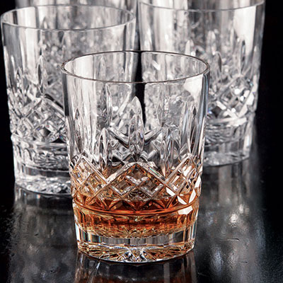 Waterford Crystal, Lismore Crystal DOF Tumblers, Boxed Set 5+1 Free