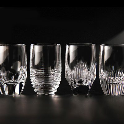 Waterford Crystal, Mixology Mixed Shot Crystal Glasses, Set of Four