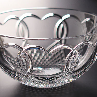 "Waterford Crystal, Wedding 8"" Crystal Bowl"