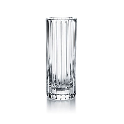 "Waterford Crystal Master Craft Jeff Leatham Infinity Vase 9"" Limited Edition"