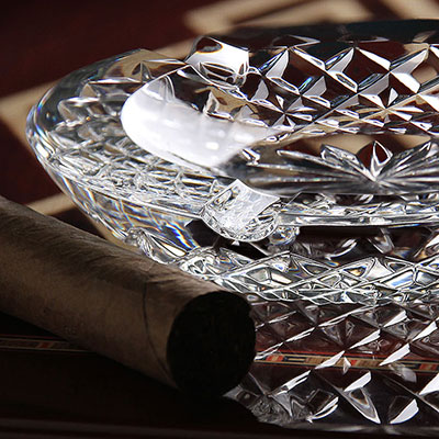 Baccarat Crystal, Gingko Crystal Bowl