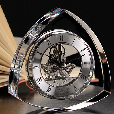 Cashs Trinity Large Desk Clock