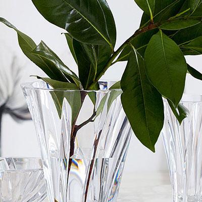 """Baccarat Crystal, Objectif Large Crystal Vase 9 7/8"""""""