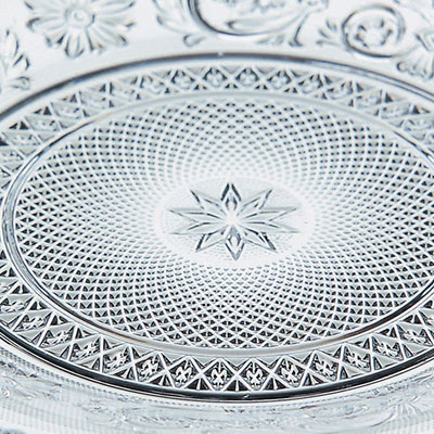 Baccarat Crystal, Arabesque Dessert Plate, Single