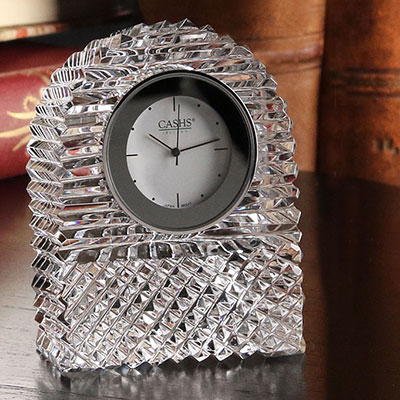 Cashs Ireland, Georgian Dome Crystal Clock