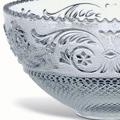 Baccarat Crystal, Arabesque Crystal Bowl, Small