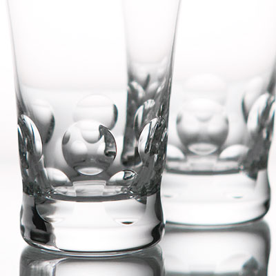 Baccarat Crystal, Beluga Crystal Highball Crystal Glasses, Pair