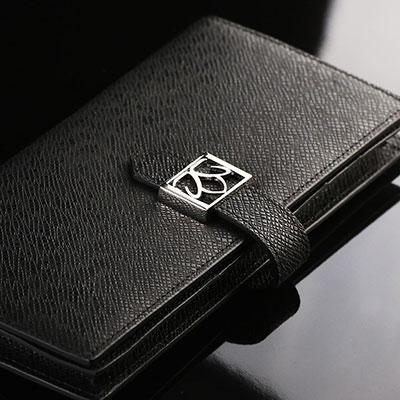 Cashs Ireland, Top Grain Leather Black Avondale Wallet