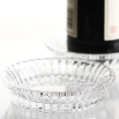 Baccarat Crystal, Mille Nuits Crystal Wine Coaster