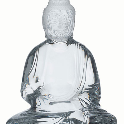 Baccarat Crystal, Light of Asia Buddha, Limited Edition