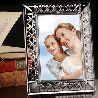 "Cashs Crystal 4 x 6"" Annestown Picture Frame"