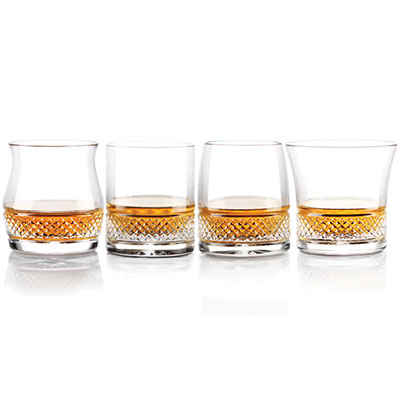 Cashs Cooper Single Malt Mixed Set of 4 Glasses