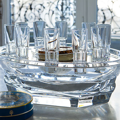 Baccarat Crystal, Abysse Crystal Caviar Service