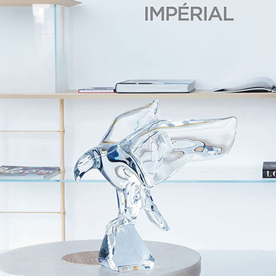Baccarat Crystal, Imperator Eagle, Small
