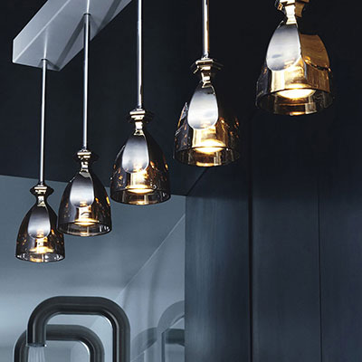 Baccarat Darkside Collection Harcourt Ceiling Lamp