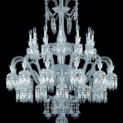 Baccarat Crystal, Solstice 36 Light Crystal Chandelier