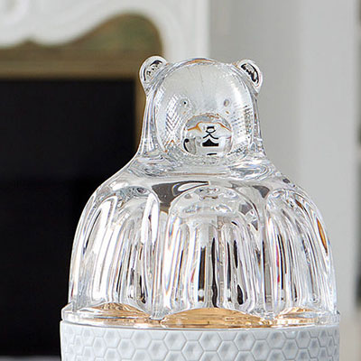 Baccarat Crystal, The Zoo, Bear, Clear