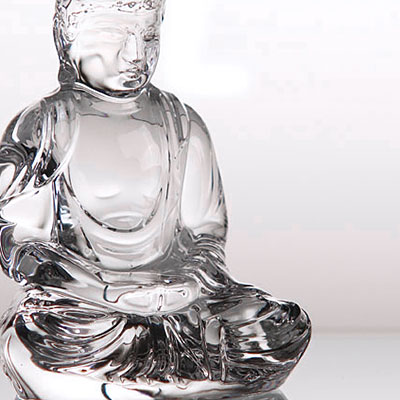 Baccarat Crystal, Light of Asia Little Buddha