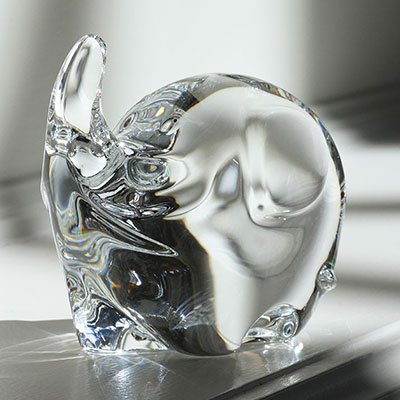 Baccarat Crystal, Minimals Little Elephant