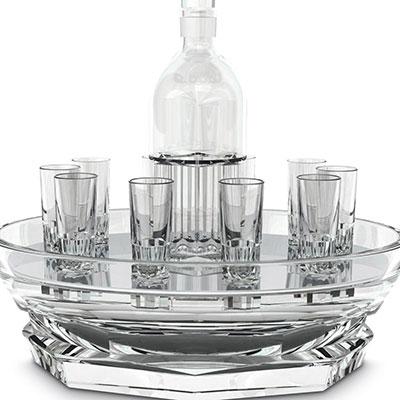 Baccarat Harcourt Abysse Vodka Set