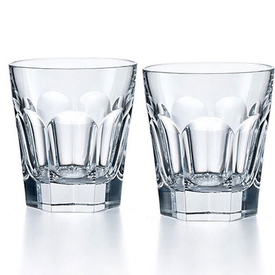 Baccarat Harcourt 1841 Old Fashioned Tumbler, Pair