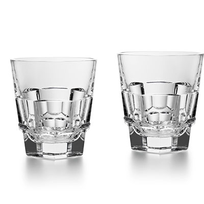 Baccarat Crystal, Harcourt Abysse Tumbler, Pair