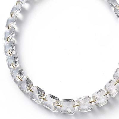 Baccarat Crystal Par Marie Helene De Taillac Clear Necklace