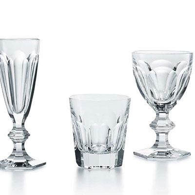 Baccarat Crystal, Harcourt 1841 Perfect Glass, Set of 3