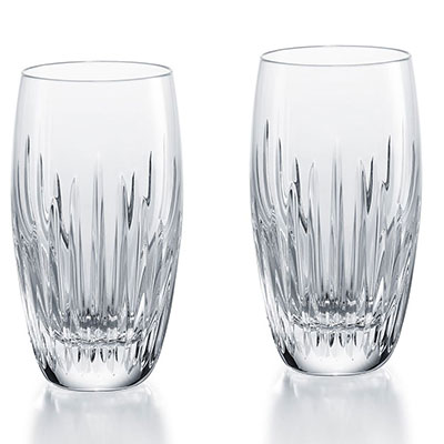 Baccarat Crystal, Massena Crystal Highball, Pair