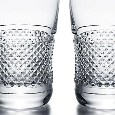 Baccarat Diamant Highball Glass, Pair