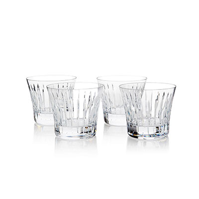 Baccarat Symphony Boxed Gift Set of 4 Tumblers