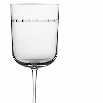 Michael Aram, Hammertone Water Glass, Pair