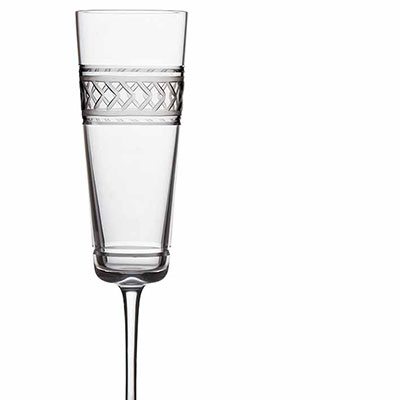 Michael Aram, Palace Champagne Crystal Flute, Pair